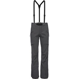 Black Diamond Dawn Patrol Pantaloni Donna, anthracite
